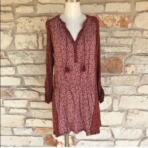 Anthropologie Akemi + Kin Boho Tunic Dress